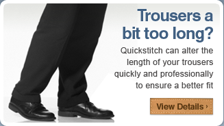 Trouser Shortening