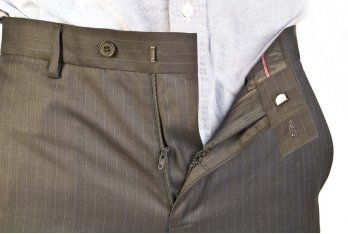 Replacement zip for men's trousers