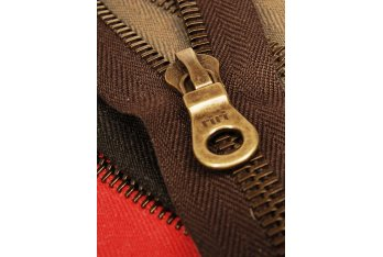 Replacement Brass Zips for men's leather jackets