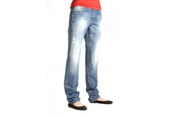 Leg taper for women's jeans