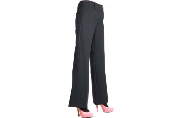 Leg taper for women's trousers
