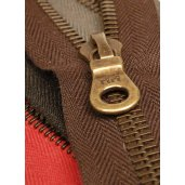 Replacement Brass zips for women's leather jackets